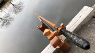 加福フィッシュランド へらぶな釣り 両うどん 底釣り